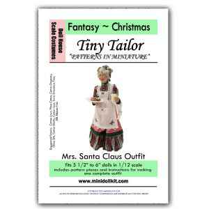 Mrs. Claus Outfit Pattern