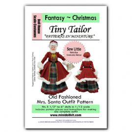 Old Fashioned Mrs Santa Claus Outfit
