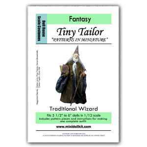 Traditional Wizard Outfit Pattern