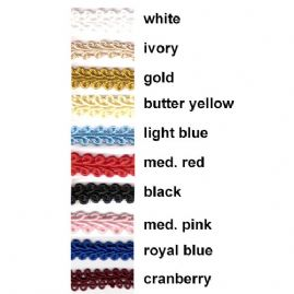 Mini Rayon Loop Braid