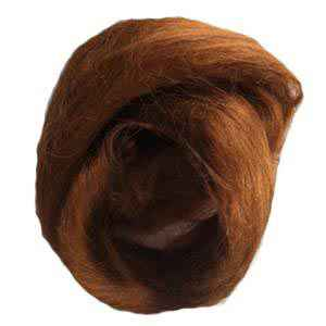 Chestnut Viscose Wigging