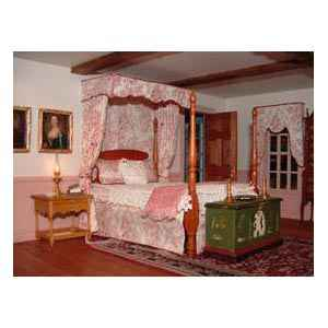 Chippendale Bed Canopy Pattern